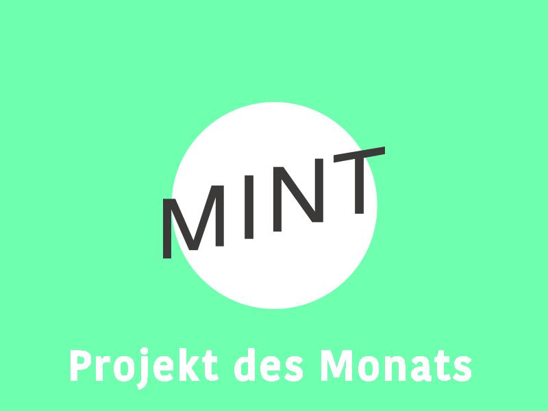 Projekt des Monats MINT