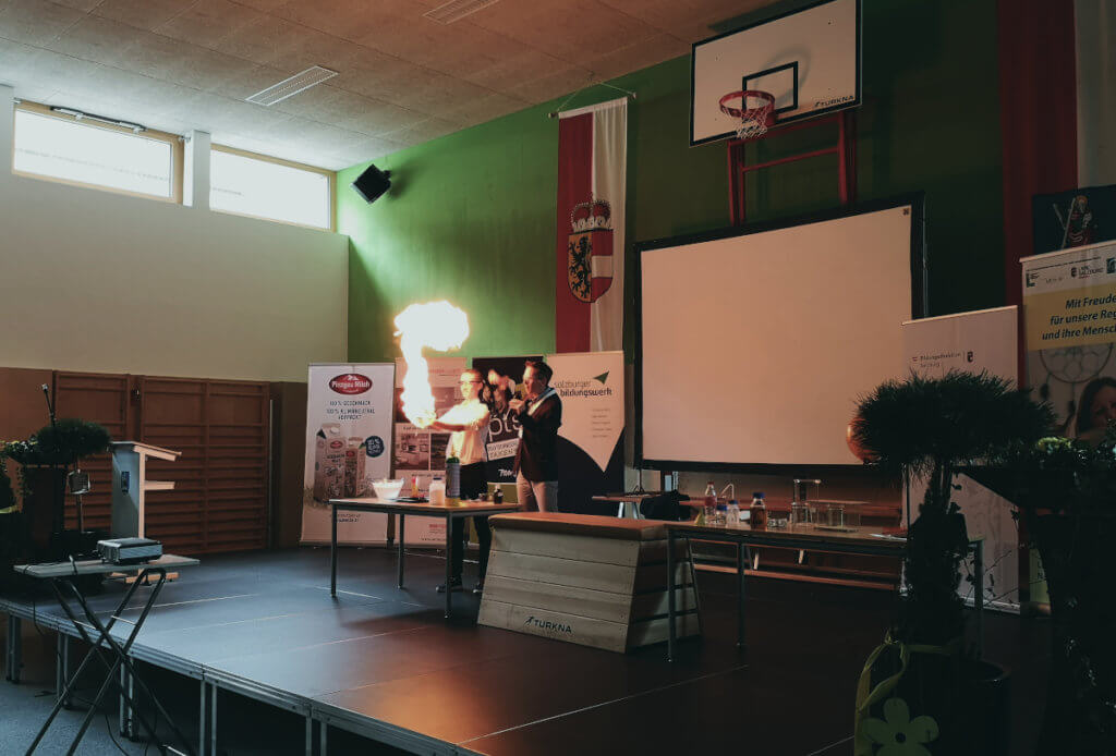 Chemie-Show im Pinzgau
