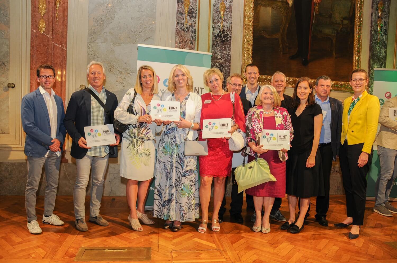 Verleihung MINT Guetesiegel Wien